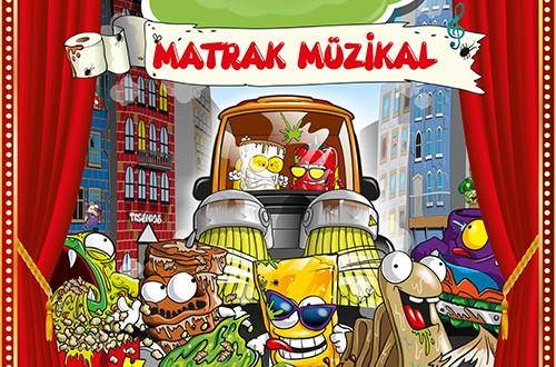 Çöps Çetesi Matrak Müzikal Prömiyeri Kidzania'da